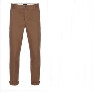 💥All Saints Charge Chino Pants Size 32 Brown